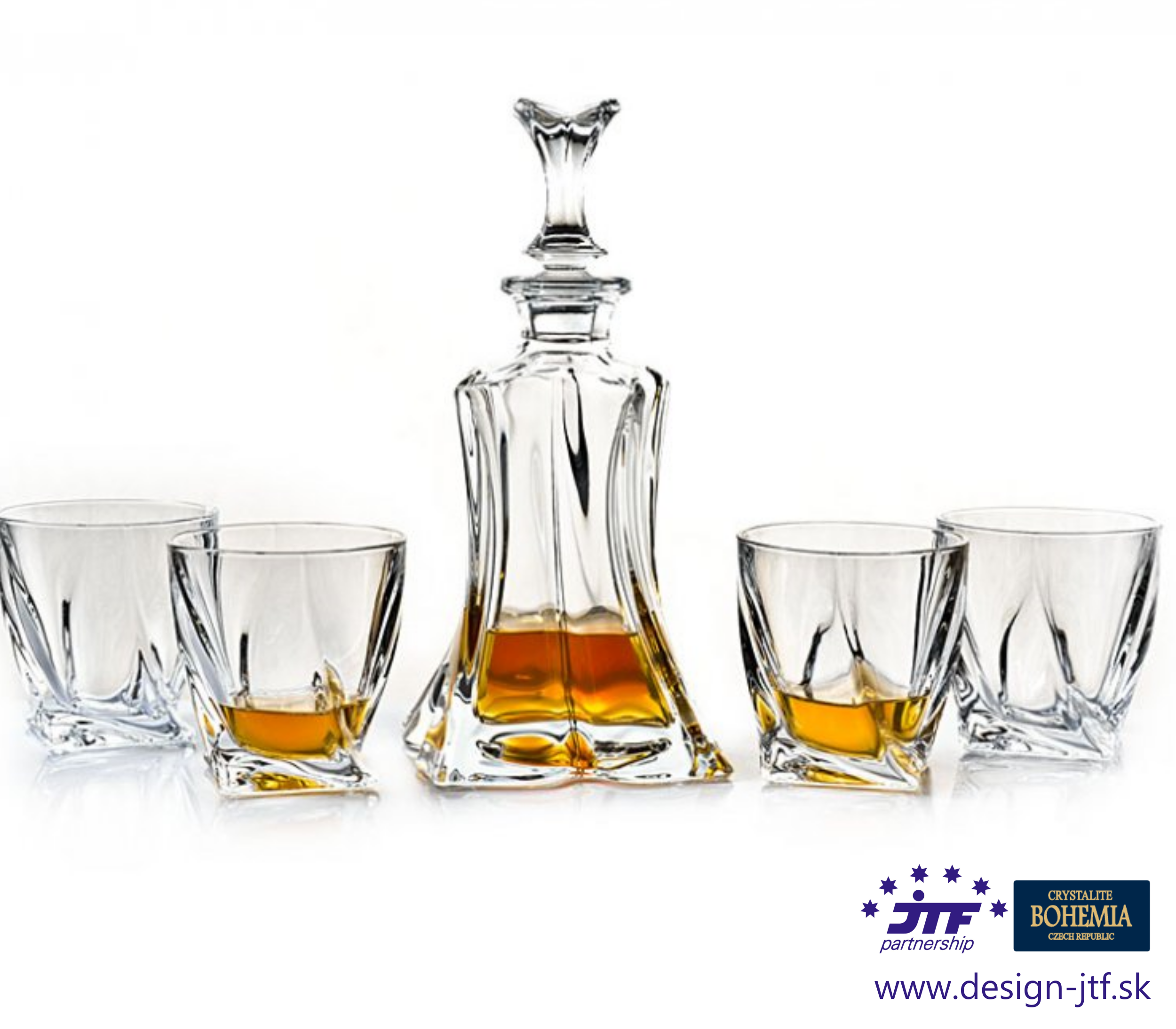 FLORALE whisky set 1+4